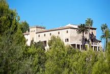Posesiones mallorquinas - majorquian manors / The history of Majorca is written through the original Majorcan country estates. These estates originate from 1368 when King Jaime I came to conquer the island.
