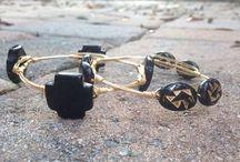 Broke Girl Bangles / I make custom order wire wrapped bangles! Go like my Instagram page, BrokegirlbanglesPC! And favorite my shop on etsy! / by Meghan Carter