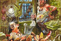 The Art of Jack Davis / A genius........ / by Michael Hansen