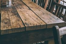 Tables / Rustic tables, madera con caracter