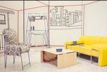 Exposición IED FLAT, soluciones para el pequeño hogar del IED Design Madrid / IED Flat, proyecto realizado por los alumnos de 3º curso de Diseño de Producto y 2º curso de Diseño de Interiores de la Escuela de Design, bajo la dirección del estudio Mecedorama, y cuyas bases se han fijado en un taller con el prestigioso diseñador Luca Nichetto. Una exposición que muestra el piso de pequeñas dimensiones del S.XXI, compuesto con únicamente 13 objetos de mobiliario, que responden a las necesidades reales de la actualidad. Hasta el 2 de septiembre,  en el IED Madrid.