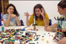 Nuevas metodologías para potenciar la creatividad / Desde el Departamento de Sostenibilidad proponemos nuevas metodologías de aprendizaje, procedimientos que aplicamos en nuestras clases para el desarrollo de proyectos, un ejemplo de ello es el sistema LEGO® SERIOUS PLAY®.