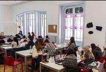 Creative Problem Solvers nuevo reto para los Masters of Design and Innovation / A través de un workshop dirigido por Pablo López, Consultor en Creatividad e Innovación, los Masters of Design and Innovation aprendieron cómo ser Creative Problem Solvers a través de la intervención en su espacio de trabajo: el MDI Lab.