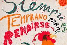 Libro ilustrado - Marta Soriano / El concepto del proyecto es sencillo, un libro que recoge 100 frases célebres ilustradas por mi. Nace de mi interés por la caligrafía y el hand lettering como forma de expresión artística: la imagen de cercanía, autenticidad o tradición que transmiten los rasgos caligráficos dotan a las imágenes de la personalidad característica de quien las crea.