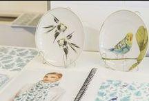 Pattern Design  - Exhibition  2016 / Como viene siendo habitual, el Máster de Diseño Textil y de Superficies, dirigido por los creativos de La Casita de Wendy, presentó los proyectos de la última edición de este programa formativo. En esta ocasión, los alumnos realizaron el Trabajo de fin de Estudios para el Museo Thyssen en colaboración con Vista Alegre.