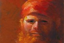 Fine Art Portraits / Carolyn Hancock Fine Art Portraits & Figurative Art; emotion, realism, and color