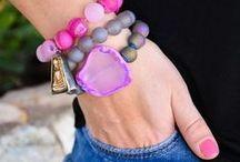 B R A C E L E T S / Crazy about bracelet stax. More is always better
