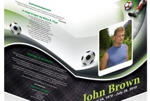 Templates For Who Relate To Sports!! / Here are some Funeral Program Templates Specially For Those Who loved Sports and for players, These programs are related to sports persons, who are die heart lover of sports. You can find more Sport Templates at our online store. Please Visit:- http://goo.gl/WFpuy