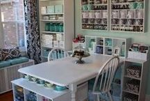 Sewing Room Ideas / by Laurie Allred