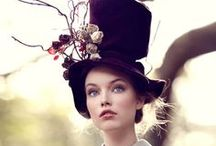 sombreros / Amo los sombreros... cuando sea viejita voy a tener una tienda de sombreros :)