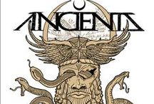 """Anciients / """"Somewhere between sheer, apocalyptic heaviness and precise riffing, lays otherworldly ANCIIENTS—a Vancouver-based rock juggernaut forging crushing heavy metal evocative of veterans High on Fire and contemporary sonic craftsmen, Opeth. ANCIIENTS have combined fuck-off-huge chords with mind-altering riffage that takes you on an unfamiliar trip."""""""