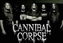Cannibal Corpse / Cannibal Corpse is an American death metal band from Buffalo, New York, formed in 1988.  The members of Cannibal Corpse were originally inspired by thrash metal bands like Kreator, and Slayer, as well as other death metal bands such as Morbid Angel, Autopsy and Death.