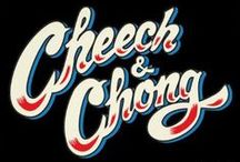 """Cheech and Chong / Cheech & Chong are a Grammy Award-winning comedy duo consisting of Richard """"Cheech"""" Marin and Tommy Chong who found a wide audience in the 1970's and 1980's for their films and stand-up routines, which were based on the hippie/free love era, and especially the drug and counterculture movements, most notably their love for cannabis."""