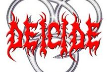 Deicide / Deicide is an American death metal band formed in 1987. Known the world over as one of the founding fathers of Death Metal, Deicide stand strong to this day as one of the most influential and controversial metal bands ever. With a relentlessly brutal sound and uncompromisingly blasphemous lyrics, Deicide helped set the standards for Death Metal well over a decade ago and have maintained those standards ever since.