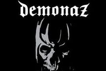 """Demonaz / Most know him as one of the founding members, guitarist and lyrics writer for legendary IMMORTAL – but now DEMONAZ strikes back with his first solo album, """"March Of The Norse"""". Aiding him are Ice Dale (I, ENSLAVED, AUDREY HORNE) on guitars and bass, and Armagedda (former IMMORTAL drummer, I) on drums. The result is a breathtaking and epic slab of unrelenting and pure 80s oldschool metal in the vein of such legends as BATHORY! Or as DEMONAZ himself calls it: Norse Metal!"""
