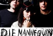 """Die Mannequin / Rising from the ashes of Care Failure's first four-piece band """"The Bloody Mannequins"""", Die Mannequin is a punk rock band from Toronto, Ontario, Canada formed in 2006."""