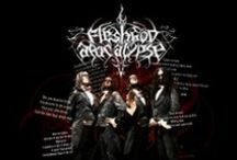 Fleshgod Apocalypse / Fleshgod Apocalypse is an Italian technical death metal band formed in 2007. The group resides in Rome and are currently signed to Willowtip Records and Nuclear Blast.