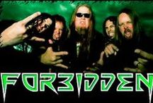 Forbidden / Forbidden is a thrash metal band from the San Francisco Bay Area. Formed in 1985 as Forbidden Evil, the group was founded by Russ Anderson and Craig Locicero, who are both permanent members.