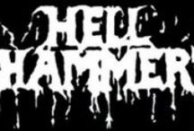Hellhammer / Hellhammer was an influential extreme metal band from Switzerland, active during 1982–1984. They are regarded as a key influence on black metal, and one of the founders of death metal. Two former members went on to form Celtic Frost in 1984.