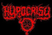 Hypocrisy / Hypocrisy is a death metal band from Sweden. It was formed in 1990 in Ludvika, Sweden by Peter Tägtgren. Musically, the band started off with a traditional death metal sound on their early albums, but soon turned into a melodic death metal band.