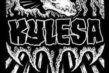 Kylesa / Kylesa is an American sludge metal band that borrows elements of crust punk, psychedelic rock, stoner rock, sludge metal, and indie rock and was formed in Savannah, Georgia in 2001.