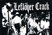 Leftover Crack / Leftöver Crack are a NYC punk rock band formed in 1998, following the breakup of Choking Victim. Leftöver Crack spans several different music genres including hardcore punk, ska, and crust punk. They write mostly political lyrics of a radical leftist nature, opposing religion, capitalism, and authority.