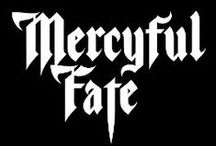 Mercyful Fate / Mercyful Fate is a Danish heavy metal band from Copenhagen, formed in 1981 by vocalist King Diamond and guitarist Hank Shermann. Influenced by prog and hard rock, with lyrics dealing with Satan and the occult, Mercyful Fate were part of the first wave of black metal in the early to mid-1980s