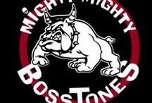 Mighty Mighty Bosstones / The Mighty Mighty Bosstones are an American ska-core band from Boston, Massachusetts, formed in 1983. The band's roots lay in the hardcore scene of the early 1980s along with a strong influence from the British 2 Tone ska scene of the 1970s.