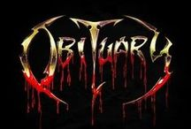 Obituary / Obituary is an American death metal band formed in 1984 in Tampa, Florida under the name Executioner, then changed the name's spelling to Xecutioner, & later changed their name to Obituary in 1988. The band is a fundamental act in the development of death metal music & one of the most successful death metal bands in the world.