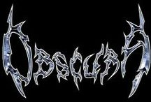 Obscura / Obscura is a technical death metal band from Munich, Germany founded in 2002.  Obscura incorporates death metal with elements of progressive rock and fusion music.