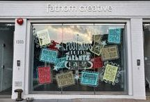CREATIVE | window displays