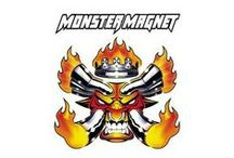 """Monster Magnet / Monster Magnet is an American stoner rock band. Hailing from Red Bank, New Jersey, the group was founded by Dave Wyndorf (vocals and guitar), John McBain (guitar) and Tim Cronin (vocals and drums). The band first went by the names """"Dog of Mystery"""", """"Airport 75"""", """"Triple Bad Acid"""" and """"King Fuzz"""" before finally settling on """"Monster Magnet"""", taken from the name of a 1960s toy made by Wham-O, which Wyndorf liked when he was a child."""