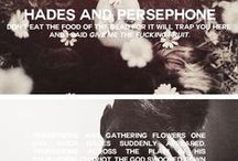 Poserpine/Hades / by spiderwitch A.