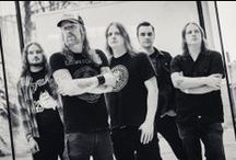 AT THE GATES / At the Gates is a Swedish metal band from Gothenburg, and a major progenitor of the melodic death metal (or Gothenburg death metal) sound.  Initially active from 1990 to 1996, the band reformed in 2007 for a reunion tour before breaking up once again in 2008. However, they reformed for a second time in December 2010, and have since continued to perform live. The band will release At War with Reality, their first album in 19 years, in late 2014