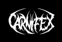 Carnifex / Carnifex is back! Carnifex is a deathcore band from San Diego, California. They have 5 studio albums, the most recent being 'Die Without Hope' released in March 2014. You can check out the bands merch here: http://www.jsrdirect.com/merch/carnifex