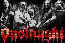 Onslaught / Onslaught is an English thrash metal band: http://www.jsrdirect.com/merch/onslaught.