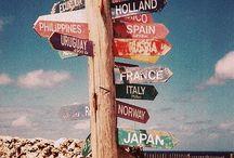 Around the world.  / by Emilykate Esplin