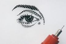 INK ART / Ink doodles, art, and drawings.