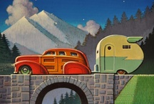 Vintage Trailers and Camping  / by Liz N.