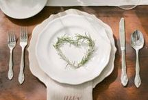 Tablesetting / Ideas for unique tablescapes and for table settings
