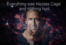 Mr Cage / An utterly pointless board dedicated to the Nickelback of the actor-world. / by Julia Stenberg