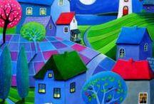 Art inspiration / Interesting and beautiful inspiration :>