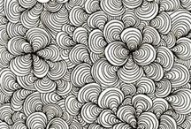 Doodles, Zentangles & other inspiration / An art form on its own