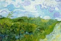 Vincent van Gogh / Can't believe this artist only sold one painting in his lifetime!