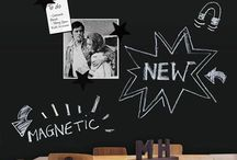 Chalkboard & Magnetic Walls / The best ideas of Chalkboard & Magnetic Walls.