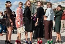 ✩ Russian Revolution / Miroslava Duma, Natasha Goldenberg, Lena Perminova, Ulyana Seryenko... / by Lorenα Coeℓho