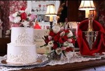 Weddings at Main Street Manor / Small and private weddings at the inn...just a sample of the love in the details we provide!