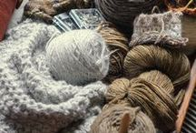 fabric and wool