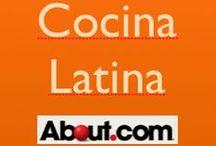 Cocina latina y caribeña / Recetas del Caribe Latino: Puerto Rico, República Dominicana, Cuba.   Recetas latinas