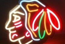 Hawkeytown / Chicago Blackhawks / by LeAnn Pieper